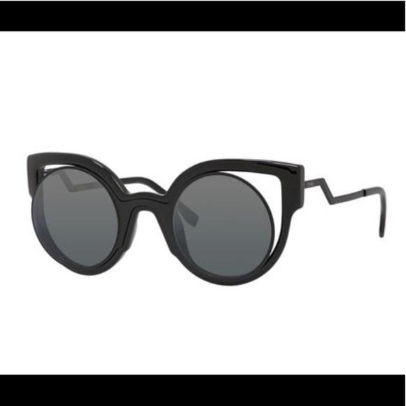 df8c4a988436 Fendi Accessories | Womens Cutoutlens Cateye Sunglasses | Poshmark